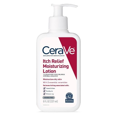 Body Lotions: CeraVe Itch Relief Moisturizing Lotion