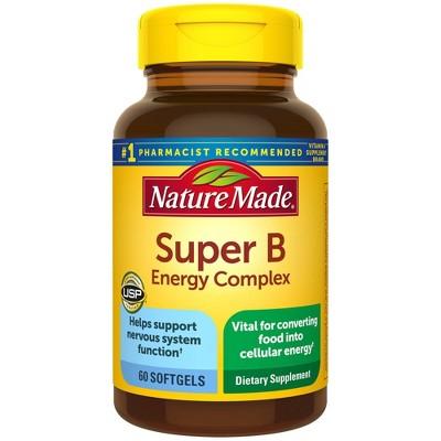 Nature Made Super B Energy Complex Softgels - 60ct
