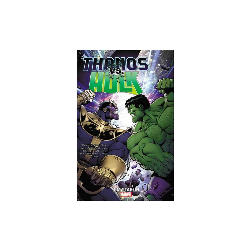 Thanos Vs. Hulk (Paperback)