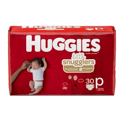 Huggies Little Snugglers Baby Diapers - Size Preemie (30ct)