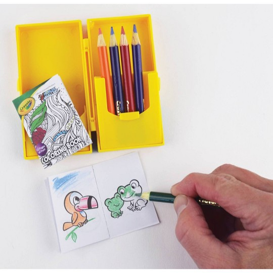 World's Smallest Crayola Coloring Book image number null