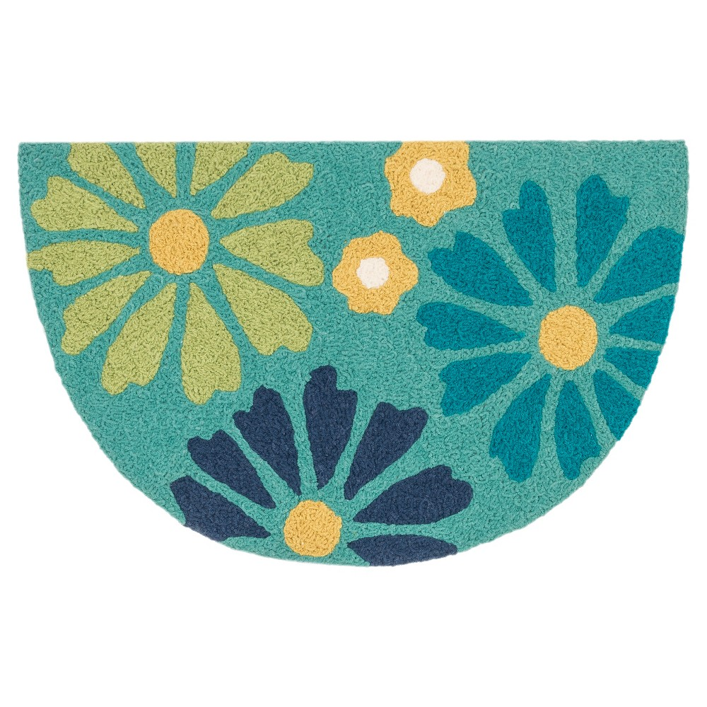 Loloi Angelou Accent Rug - Green (1'8