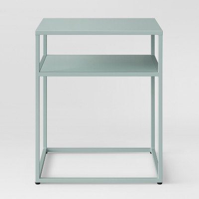 Glasgow Metal End Table Smoke Green - Project 62™