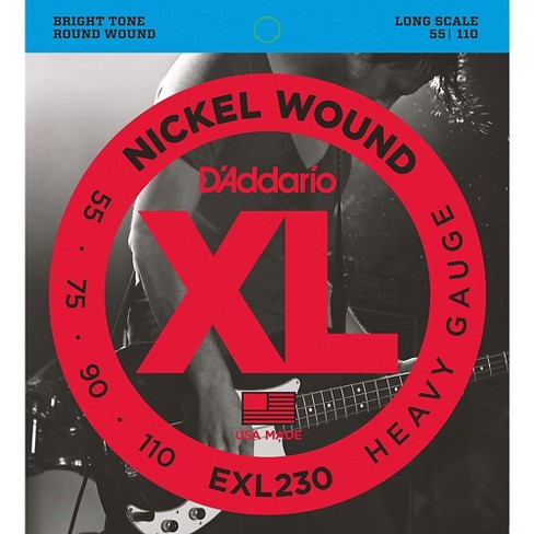 D'Addario EXL230 Heavy Long Bass Strings - image 1 of 4