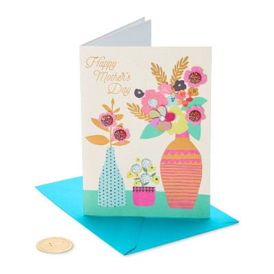 Mother's Day Greeting Card Patterned Vases - PAPYRUS