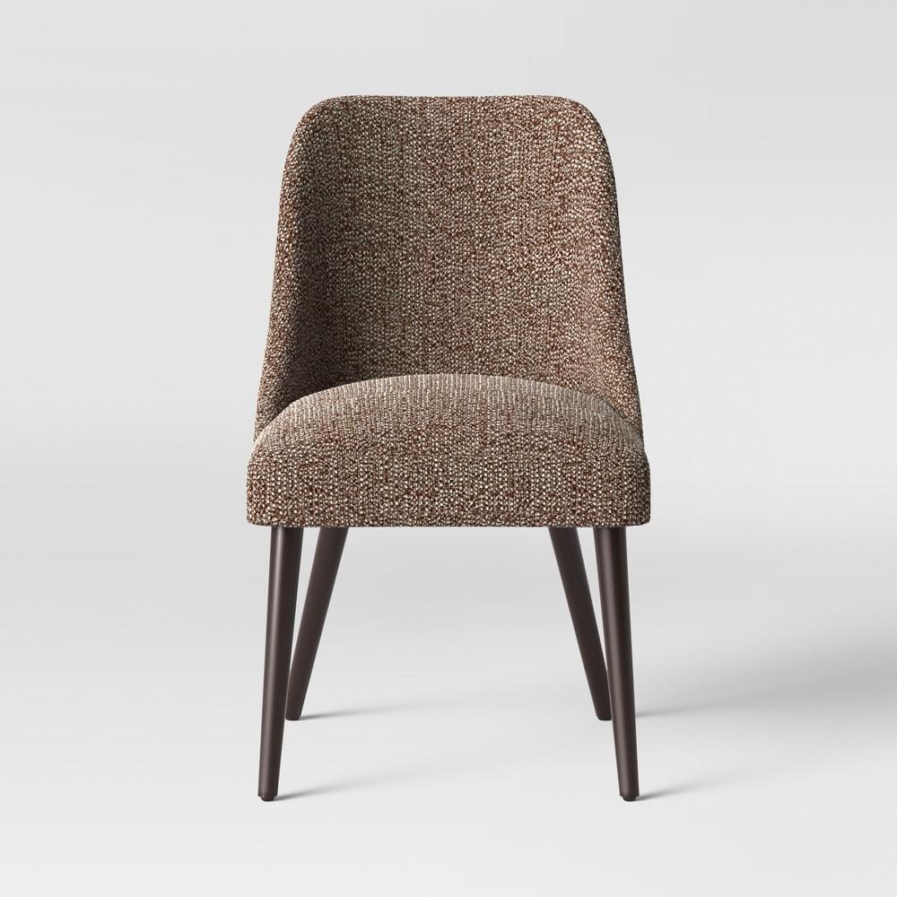Geller Modern Dining Chair Brown/Cream (Brown/Ivory) - Project 62
