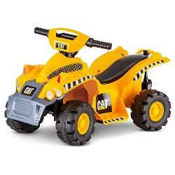 Kid Trax CAT 6V Quad Ride On - Yellow