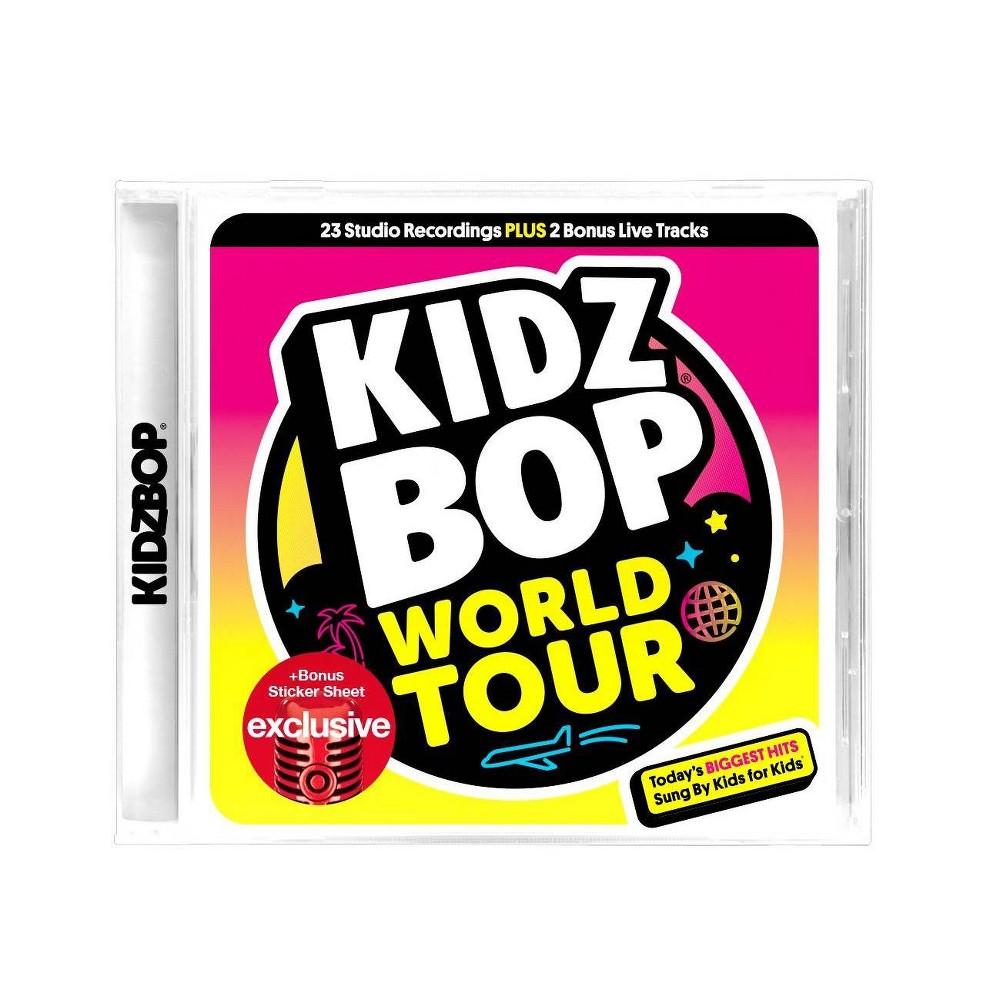 Image of Various Artists Kidz Bop World Tour (Target Exclusive)