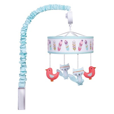 Trend Lab Musical Mobile Wild Forever - Pink
