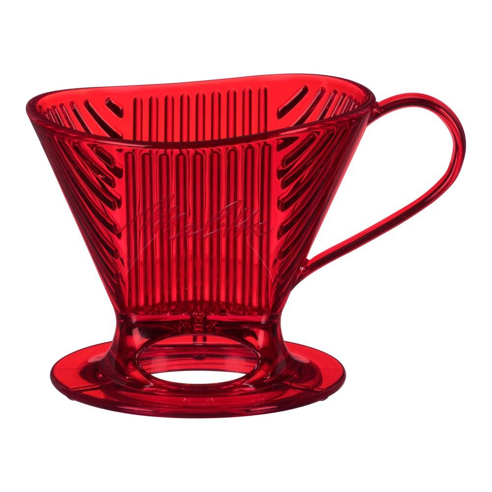 Melitta SR Pour Over Cone Coffeemaker Red 53915271