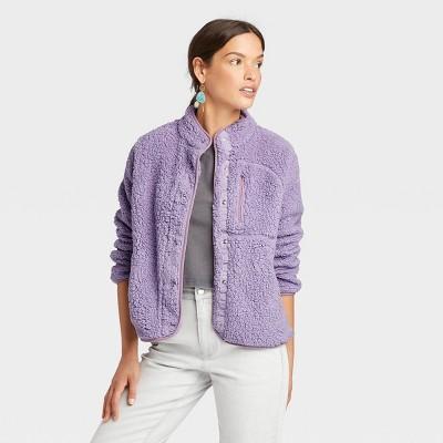 Women's Faux Fur Sherpa Jacket - Universal Thread™