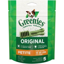 Greenies Petite Original Dental Dog Treats