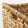 """17"""" x 15"""" Chunky Woven Basket Natural - Threshold™ designed with Studio McGee - image 3 of 4"""