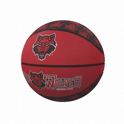 NCAA Arkansas State Mini-Size Rubber Basketball