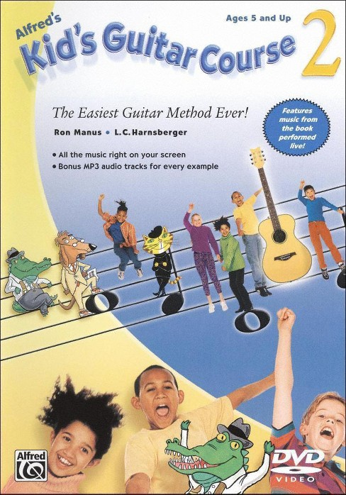 Kids guitar course 2 (DVD) - image 1 of 1