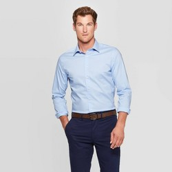 Men's Slim Fit Long Sleeve Dress Button-Down Shirt - Goodfellow & Co™