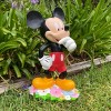 """Disney 18"""" Mickey Mouse With Flowers Resin Statue - image 4 of 4"""