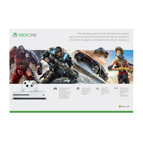 390351e8bcd Xbox One S 500 GB Console - White   Target