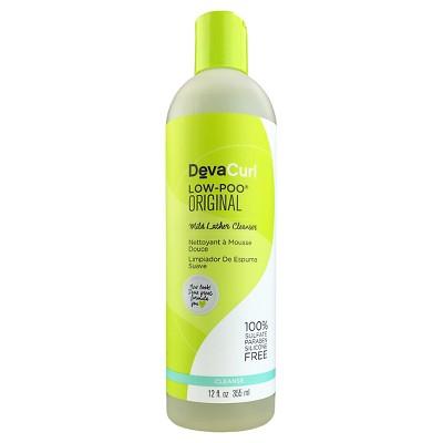 Shampoo & Conditioner: Devacurl Low-Poo Original