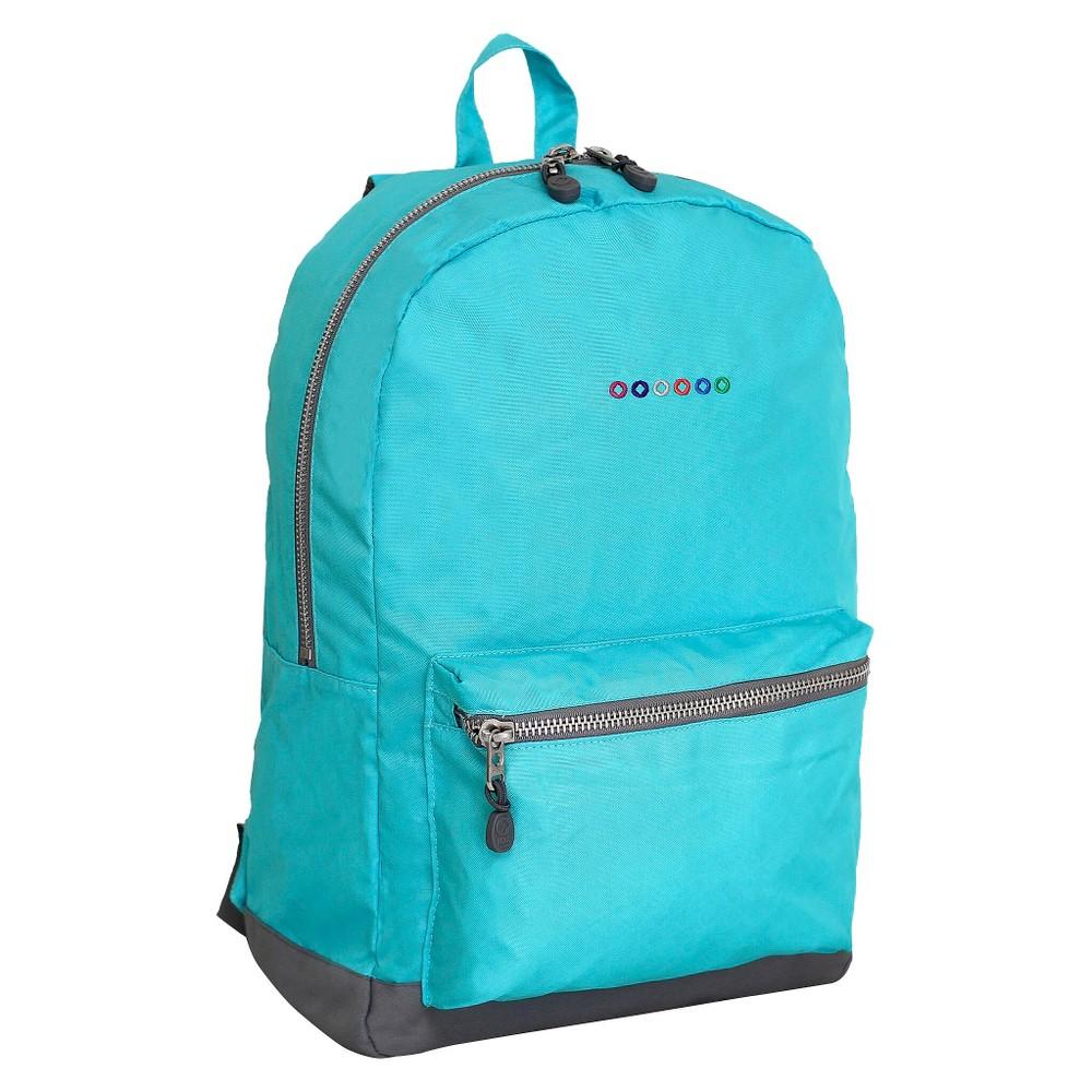 "Image of ""J World 17.5"""" Lux Laptop Backpack - Seafoam"""