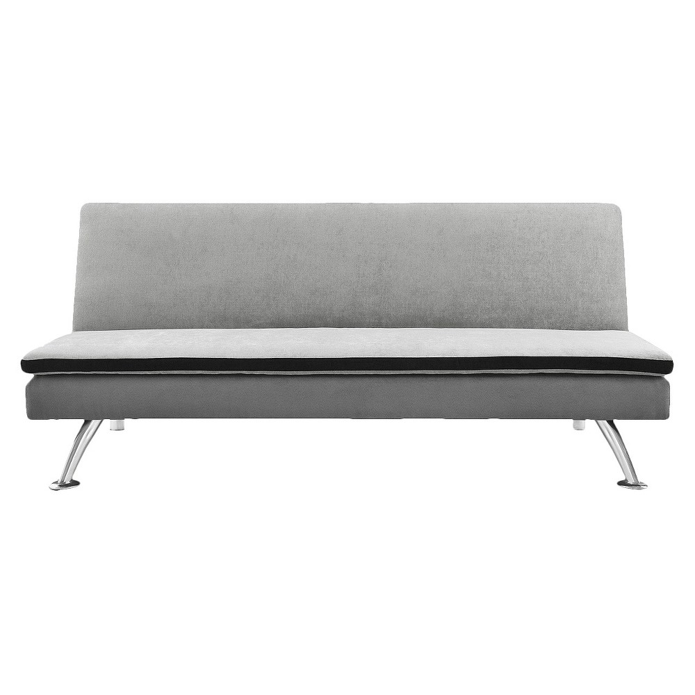 Image of Maddox Pillowtop Sleeper Sofa - Ameriwood Home, Gray