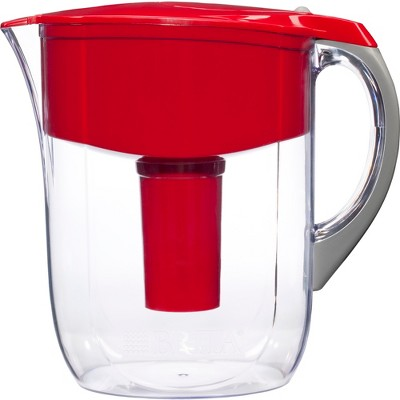 Brita Grand 10 Cup Water Pitcher - Red