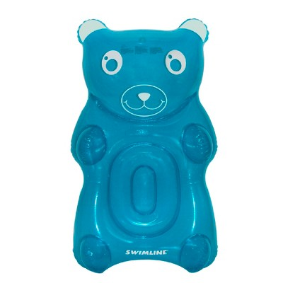 """Pool Central 60"""" Blue Gummy Bear Swimming Pool Float"""