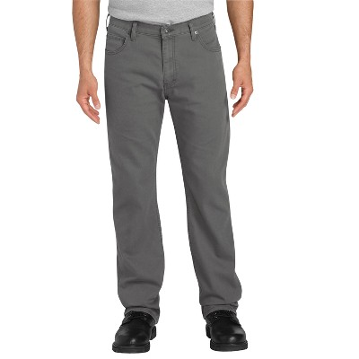 Dickies Men's FLEX Regular Fit Straight Leg Tough Max™ Duck 5-Pocket Pants