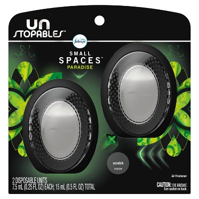 Febreze Unstopables Small Spaces Air Freshener Paradise - 2ct