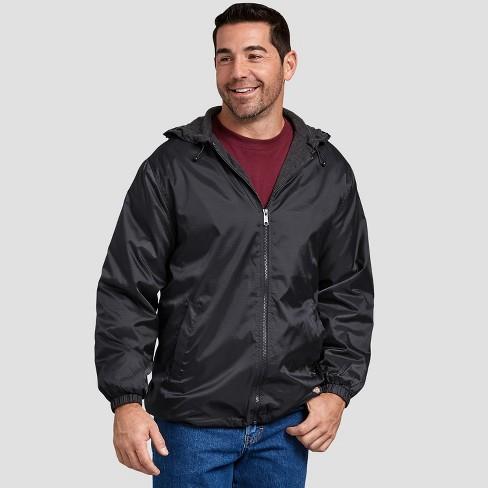 Dickies Men's Fleece Lined Hooded Nylon Jacket - image 1 of 2