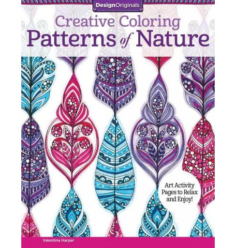 Creative Coloring Patterns of Nature Adult Coloring Book - image 1 of 1