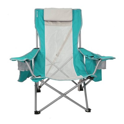 Kijaro Coast Beach Sling Chair with Cooler - Ionian Turquoise