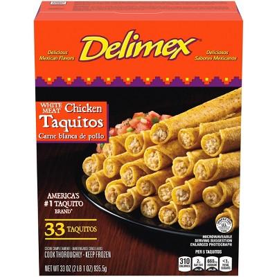 Delimex Chicken Frozen Taquitos - 33oz