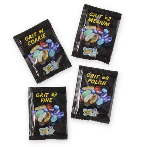 Childrens Rock Tumbler Polishing Grit Refill Packs Set - Hearthsong - image 1 of 1