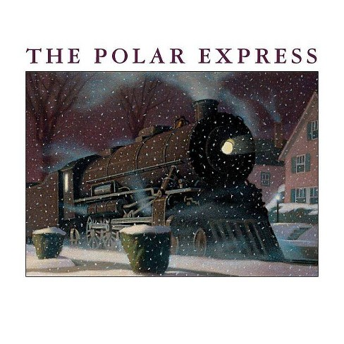 The Polar Express Big Book - by  Chris Van Allsburg (Hardcover) - image 1 of 1