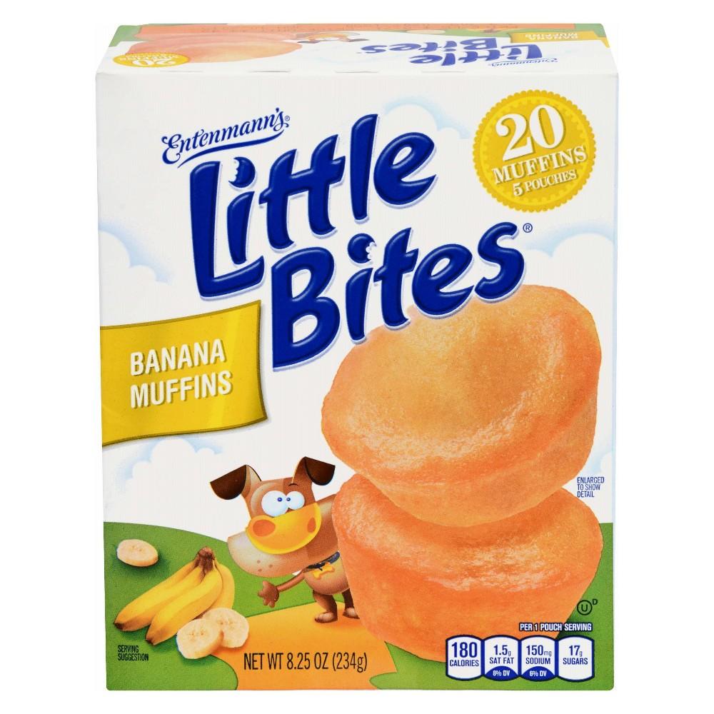 Entenmann's Little Bites Banana Muffins -8.75oz