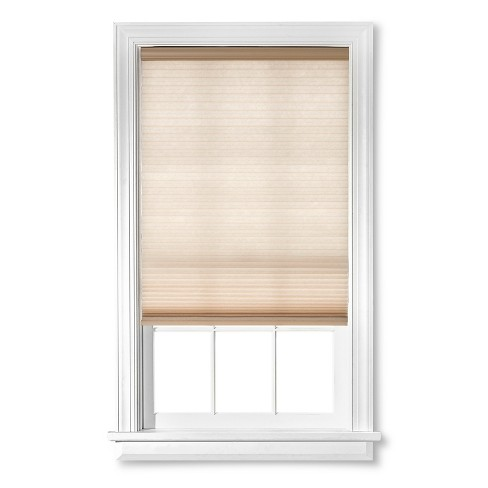 "Cordless Cell Window Shade Beige 31""x64"" - Bali Essentials - image 1 of 1"