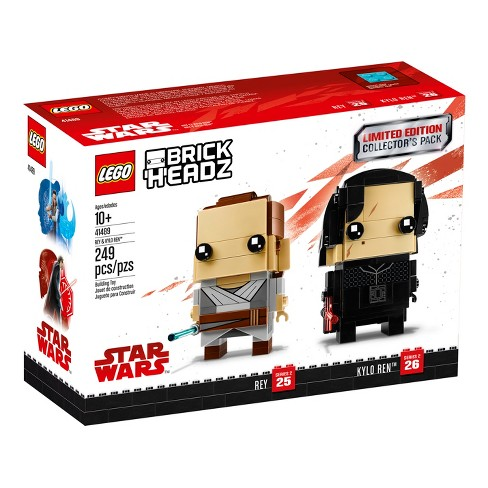 LEGO BrickHeadz Limited Edition Star Wars Rey and Kylo Ren Collector's Pack - image 1 of 3