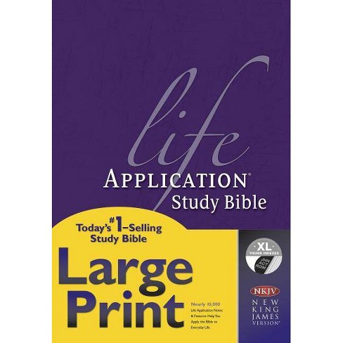 Life Application Study Bible-NKJV-Large Print - (Hardcover) - image 1 of 1
