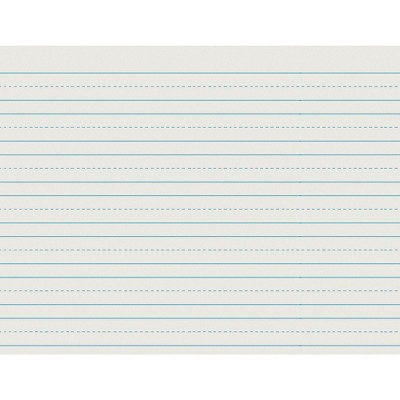 School Smart Skip-A-Line Ruled Paper, 10-1/2 x 8 Inches, 500 Sheets
