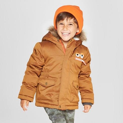 0cfe2db959bb Toddler Boys  Robot Parka - Cat   Jack™ Brown   Target