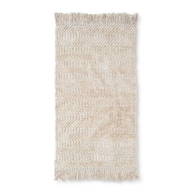 32 x20  Chenille Bath Rug Sour Cream - Threshold™