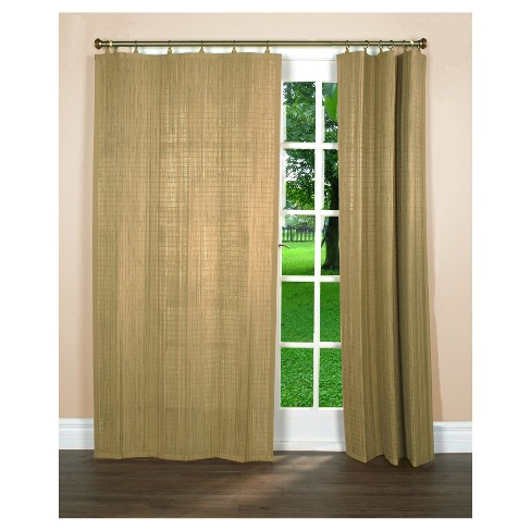 Panel Window Shade Versailles Home Fash Driftwood - image 1 of 2