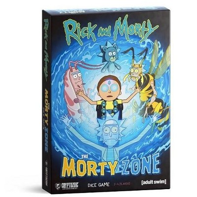 Rick and Morty - The Morty Zone Dice Game Board Game