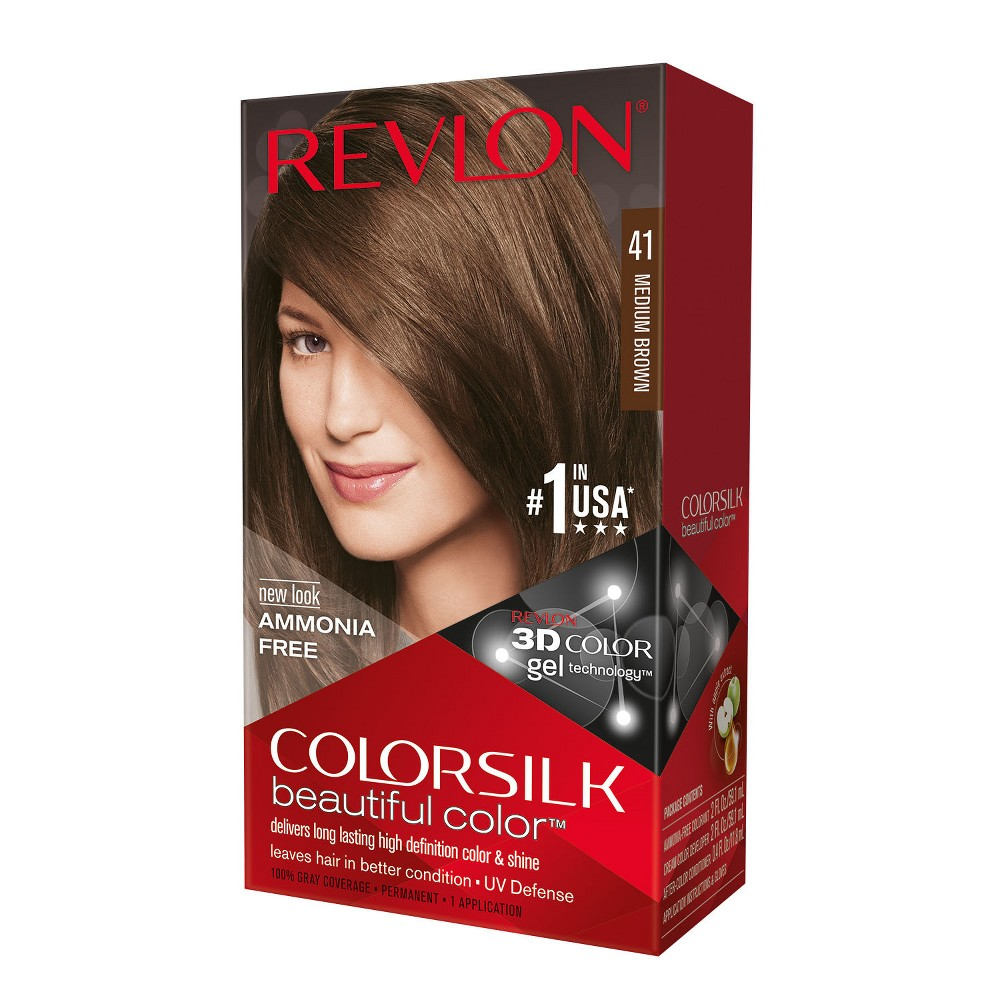 Upc 309978695417 Revlon Colorsilk Beautiful Color 41 Medium Brown