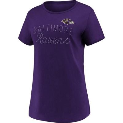 NFL Baltimore Ravens Women's Short Sleeve T-Shirt