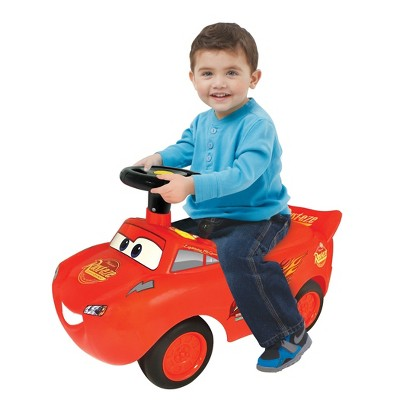 Kiddieland Lights N' Sounds Disney Lightning McQueen Racer Ride-On