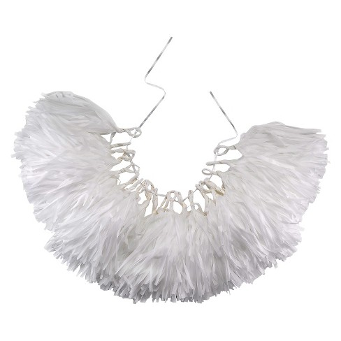 All About White Tassel Garland - image 1 of 1