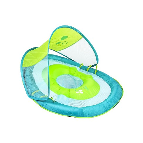 Swimways Baby Spring Float Sun Canopy - Blue Whale Print - image 1 of 1