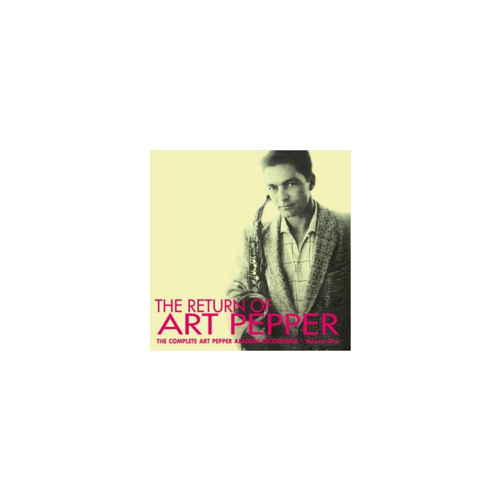 Art Pepper - Return Of Art Pepper (CD)